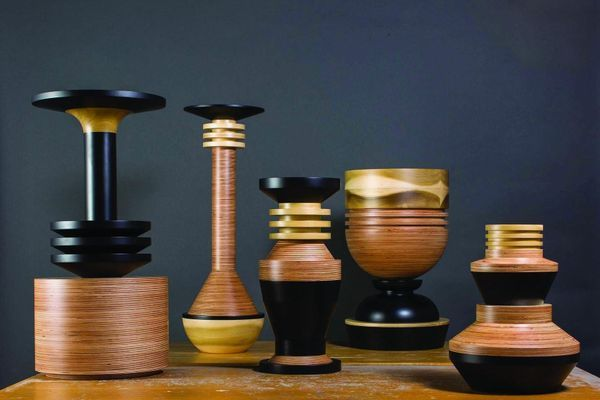 Tropical Noire Vessels by Simone Brewster (2014)