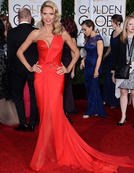 Robes rouges sur tapis rouge : notre palmarès des Golden Globes 2015