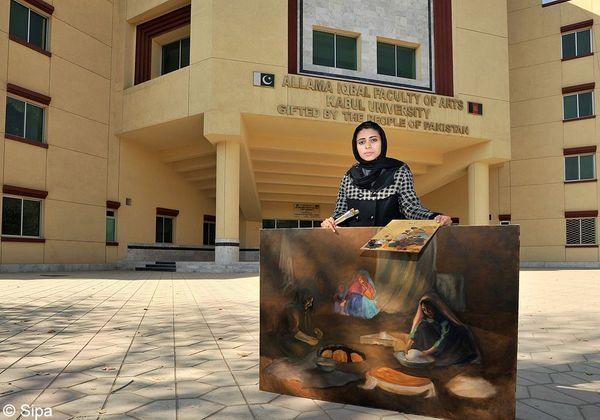 Shamsia Hassani_tableau