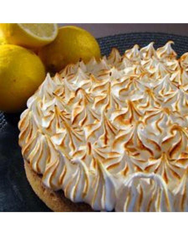 Tarte au citron et meringue pour 10 personnes recettes elle table - Cuisine de bernard tarte au citron ...