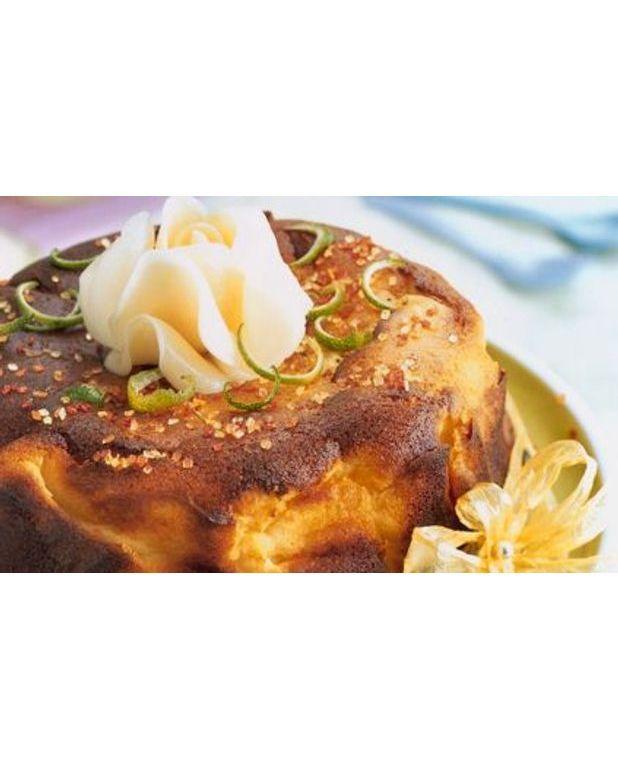 cheesecake aux cr pes dentelle pour 6 personnes recettes elle table. Black Bedroom Furniture Sets. Home Design Ideas