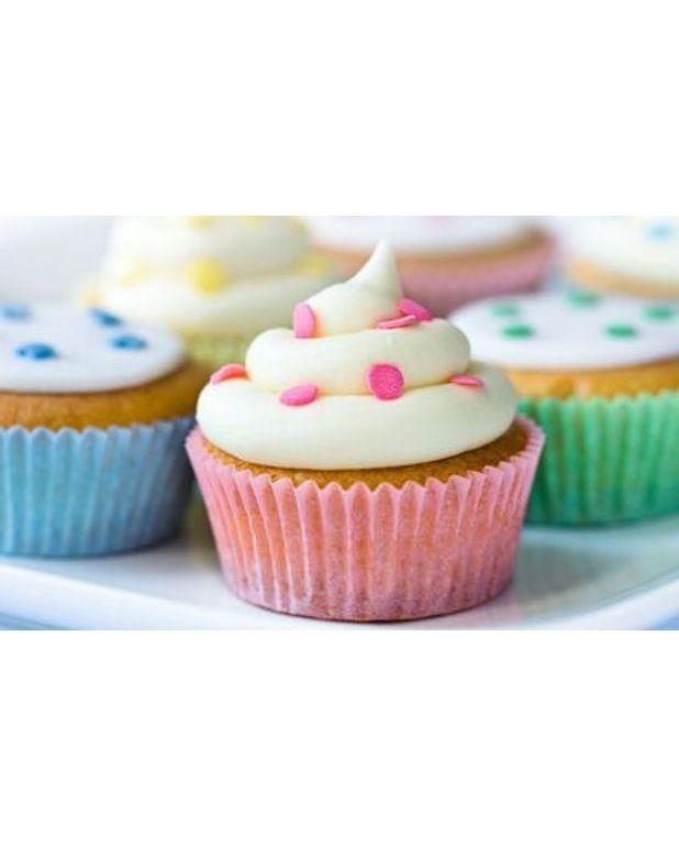 Cupcakes pour 6 personnes recettes elle table - Recette de cupcake facile ...