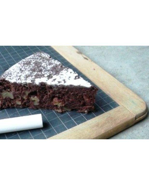 Fondant au chocolat fa on brownies pour 6 personnes recettes elle table - Fondant au chocolat en poudre ...