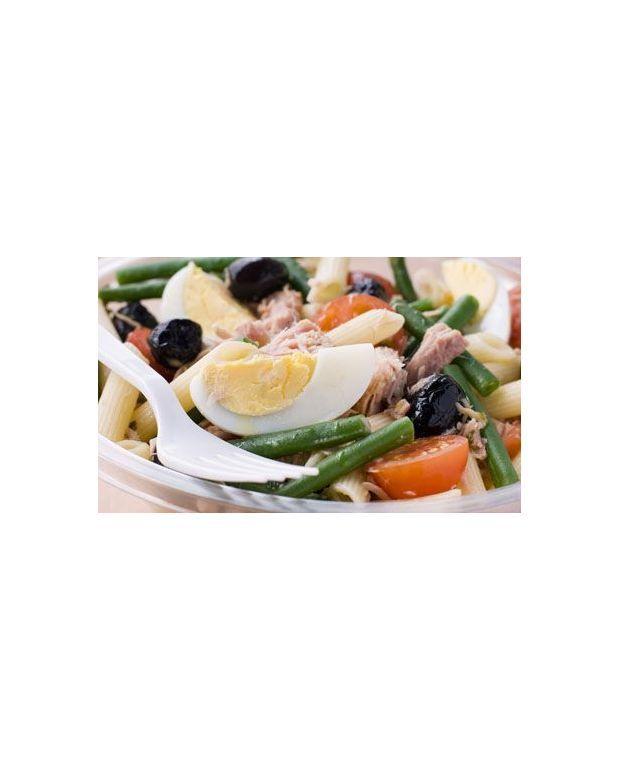 salade de p 226 tes au thon pour 2 personnes recettes 224 table