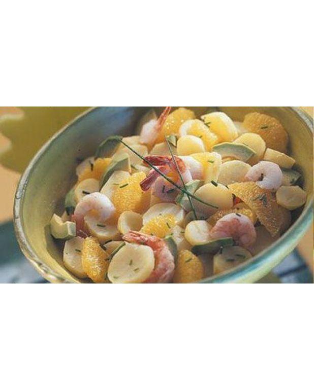 salade des bermudes aux pommes de terre primeurs pour 4 personnes recettes elle table. Black Bedroom Furniture Sets. Home Design Ideas