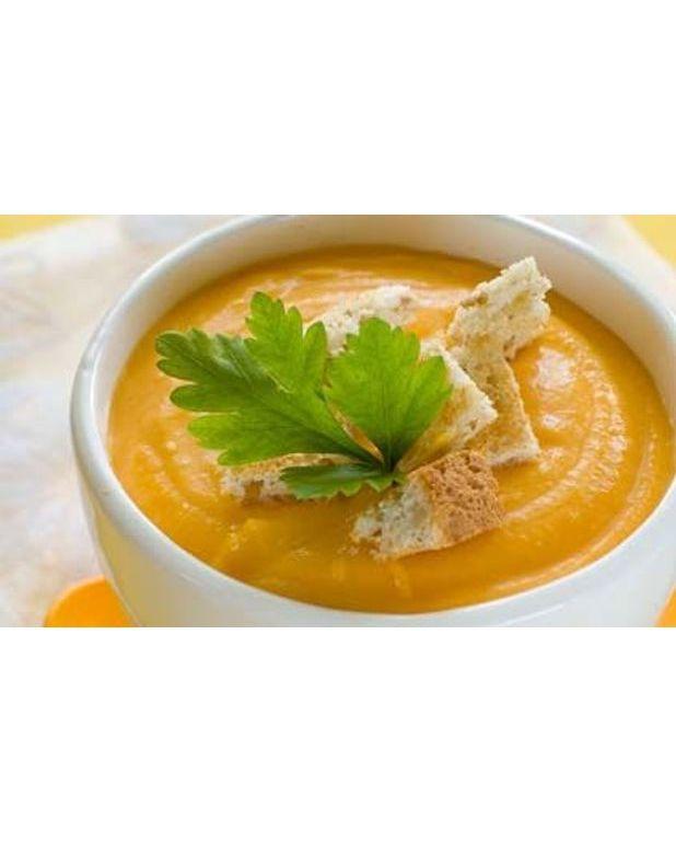 soupe aux carottes pour 6 personnes recettes elle table. Black Bedroom Furniture Sets. Home Design Ideas