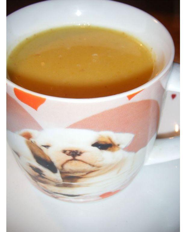 Soupe de potiron au lait de coco pour 3 personnes - Soupe potiron lait de coco curry ...