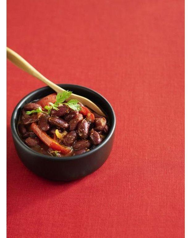 Chili con carne au paprika recettes elle table - Recette chili cone carne thermomix ...