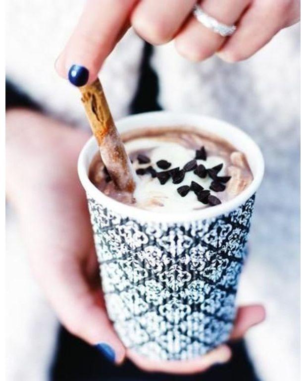 Chocolat chaud aux pices pour 4 personnes recettes elle table - A bon verre bonne table recettes ...