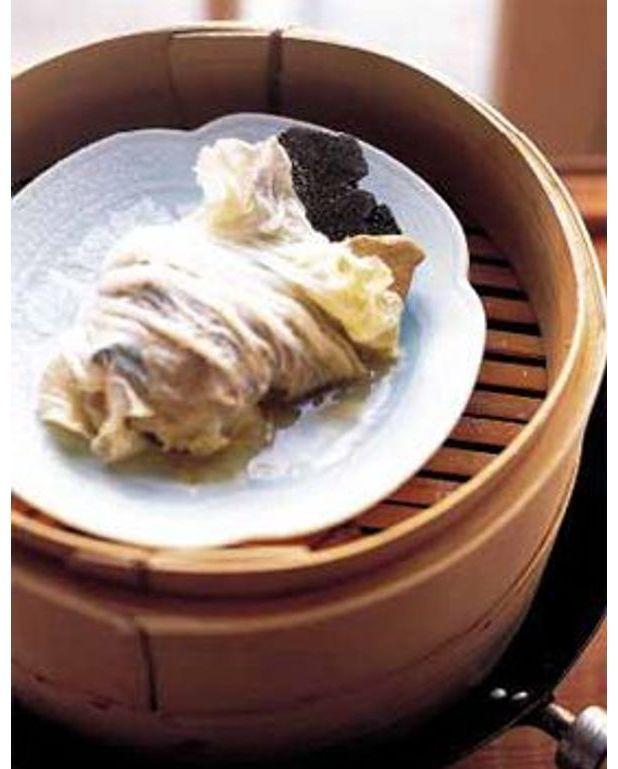 Chou chinois farci au foie gras et la truffe pour 4 - Quantite foie gras par personne ...