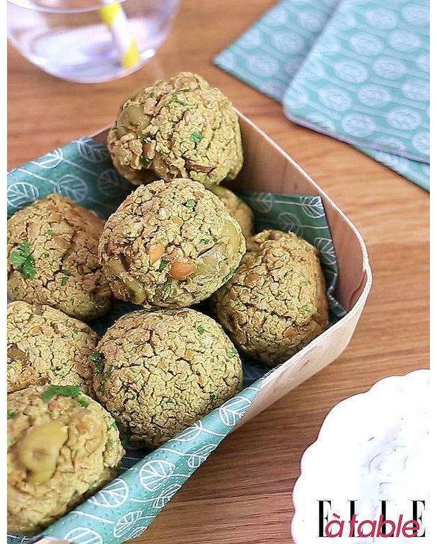 falafels aux olives vertes pour 4 personnes recettes. Black Bedroom Furniture Sets. Home Design Ideas