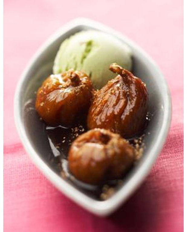 Figues poch es au miel pour 4 personnes recettes elle - C est au programme recettes de cuisine ...