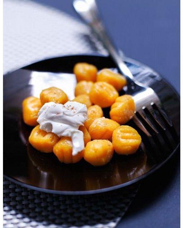 Gnochetti de patate douce sauce mascarpone pour 4 - Quand recolter les patates douces ...