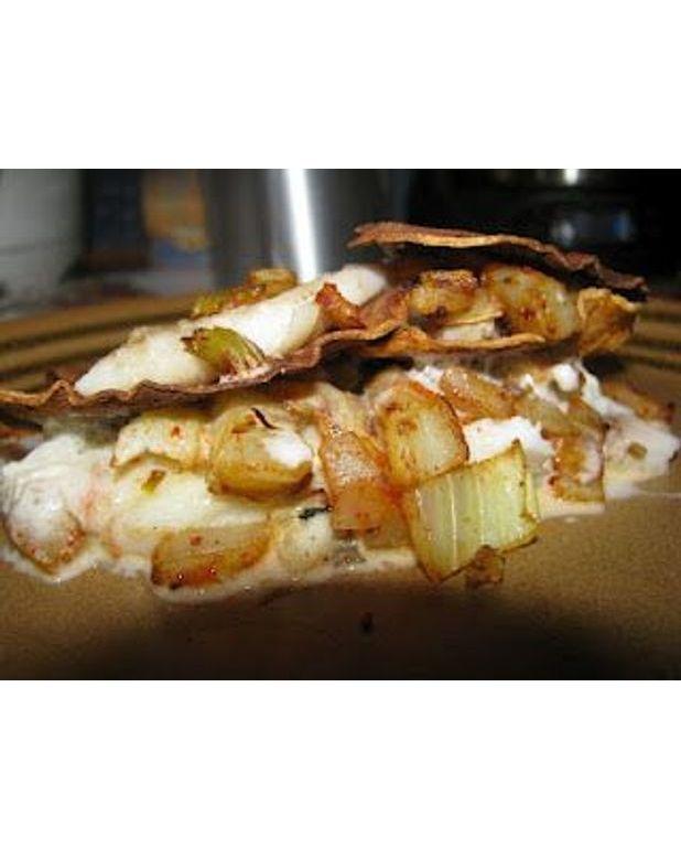 millefeuille carrelet patate douce fenouil pour 2 personnes recettes elle table. Black Bedroom Furniture Sets. Home Design Ideas