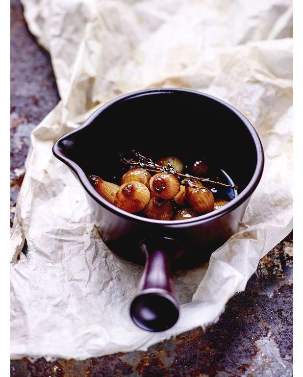 Oignons grelots l 39 aigre douce l 39 italienne pour 4 personnes recettes elle table - A bon verre bonne table recettes ...