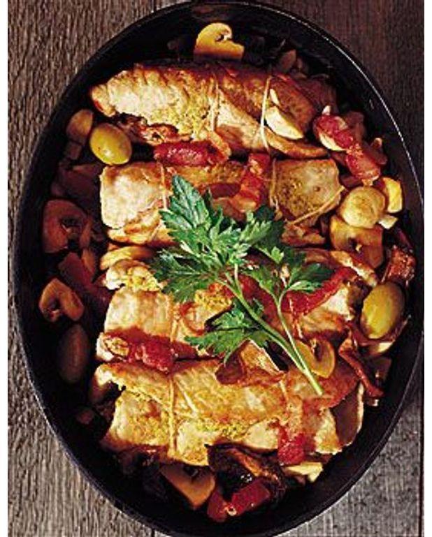 Paupiettes de veau aux olives pour 4 personnes recettes - Cuisine paupiette de veau ...