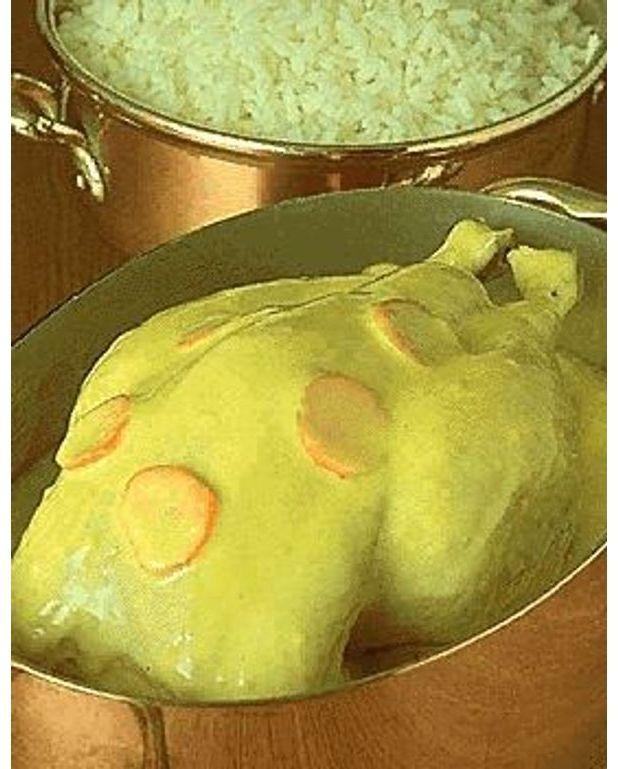 Poulet au blanc pour 4 personnes recettes elle table - Blanc poulet au four ...