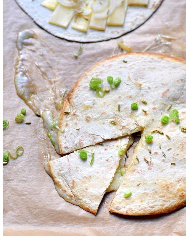 Quesadillas au comt et au fenouil pour 2 personnes - C est au programme recettes de cuisine ...