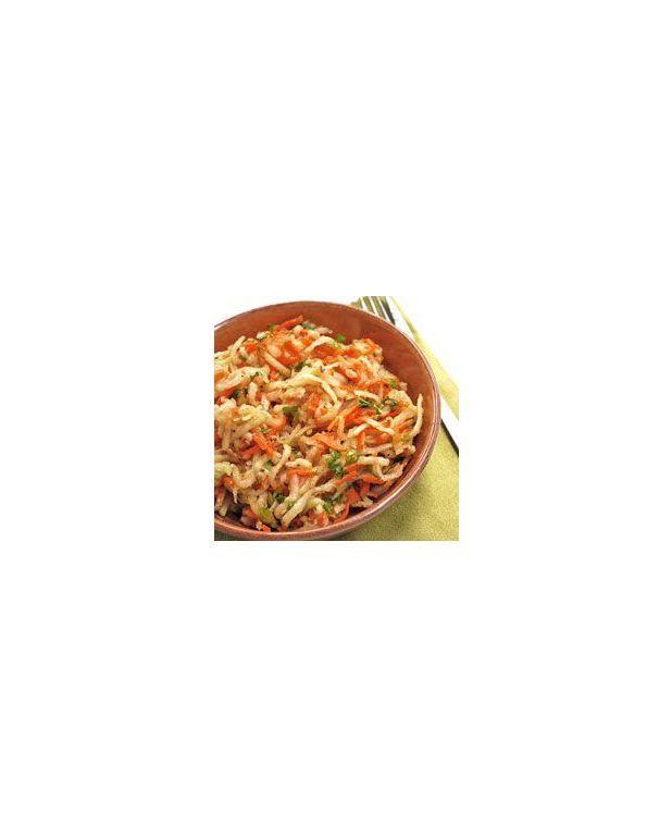 Salade de chou rave et carottes au s same pour 6 personnes - Cuisiner le choux rave ...