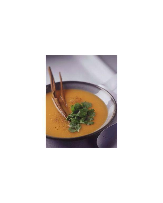 soupe froide carotte pour 4 personnes recettes elle table. Black Bedroom Furniture Sets. Home Design Ideas