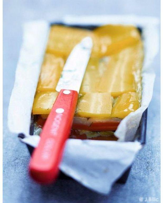 Terrine de l gumes pour 6 personnes recettes elle table - Terrine de legumes facile et rapide ...