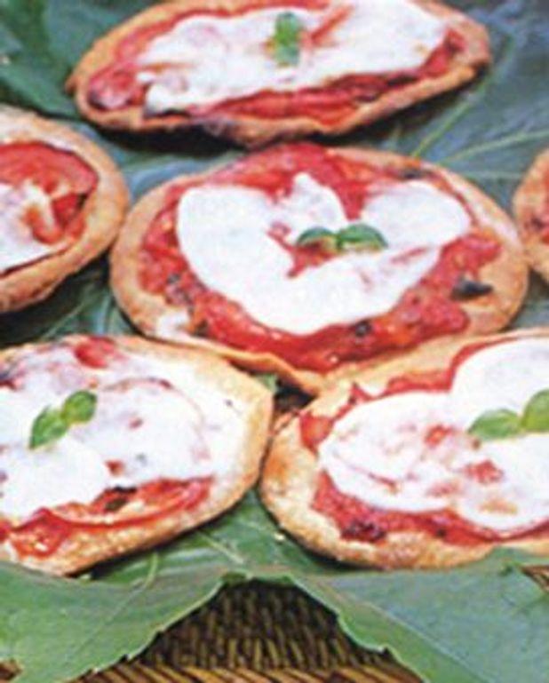 Petites tartes à la tomate