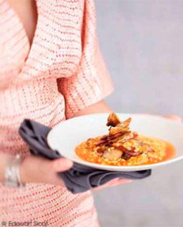 Paella-risotto