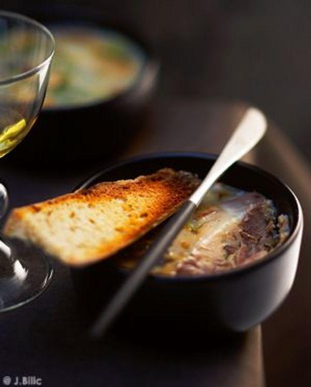 Confit de canard et foie gras