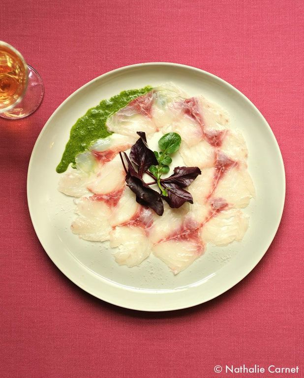 Carpaccio de poisson