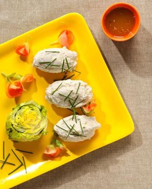 Crème aux trois fromages