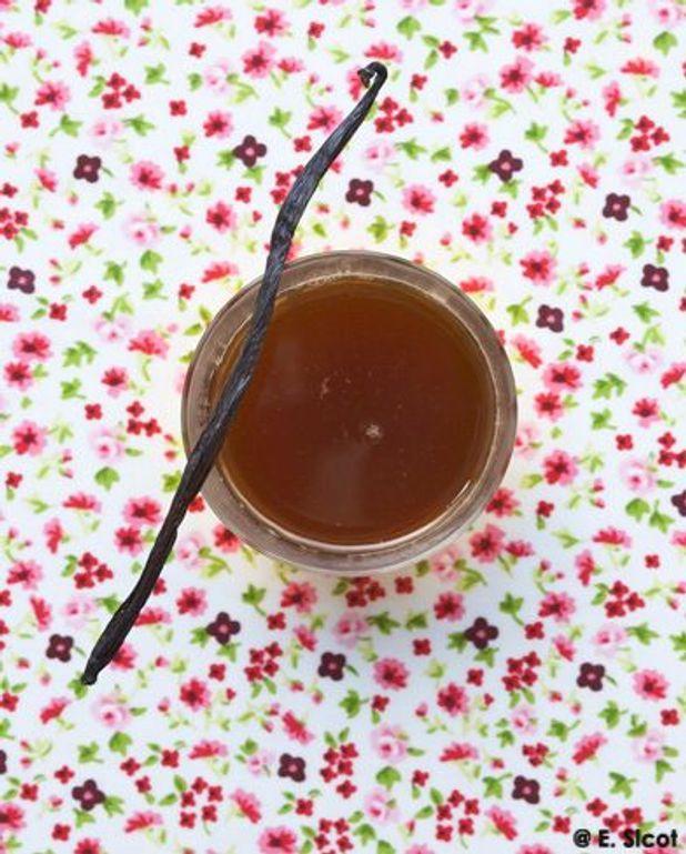 Gelée de thé au jasmin