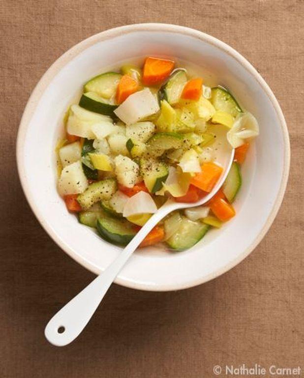 La basique : soupe de légumes