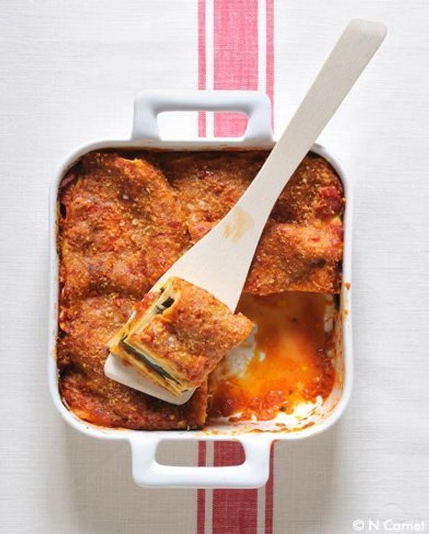 La chic : lasagnes saumon-poireaux