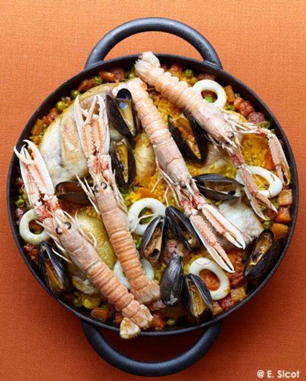 La classique : paella tradition