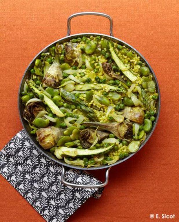 La veggie : paella aux légumes