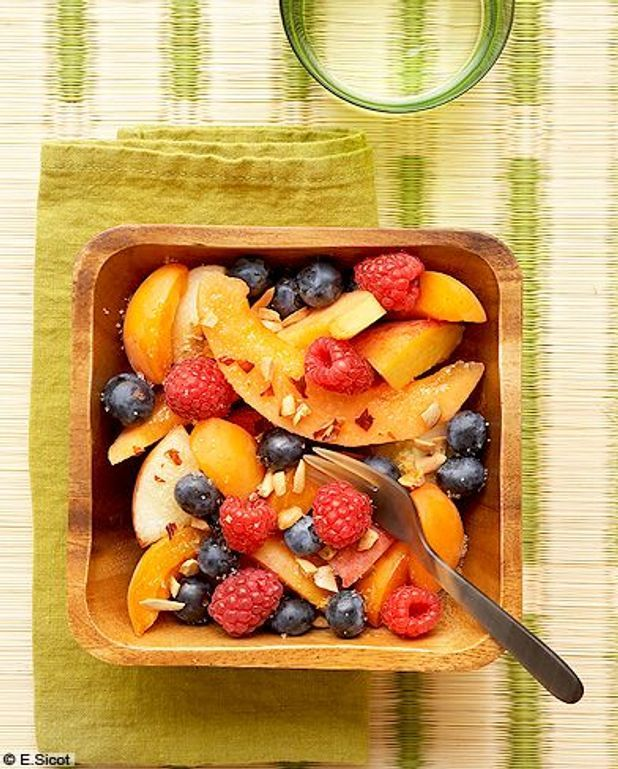 Salade de fruits pimentée