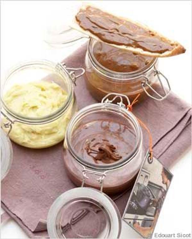 Pâte à tartiner à l'huile d'olive et à la vanille