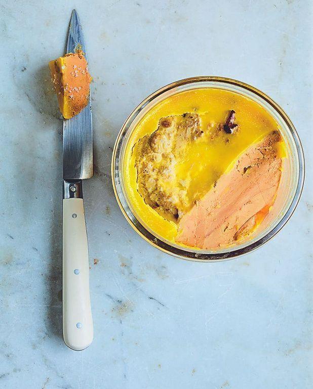 Foie gras à l'armagnac