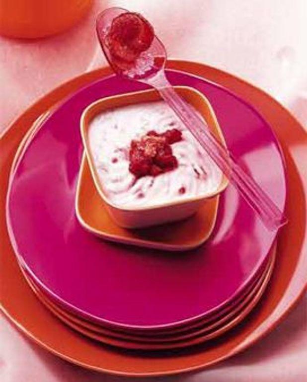 Fromage blanc aux fruits frais