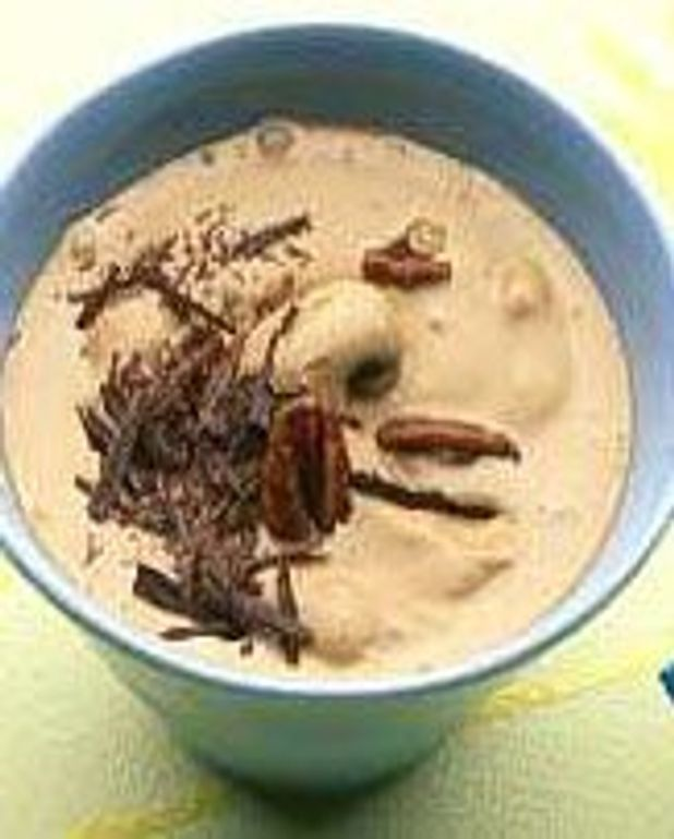 Glacé fondu au café