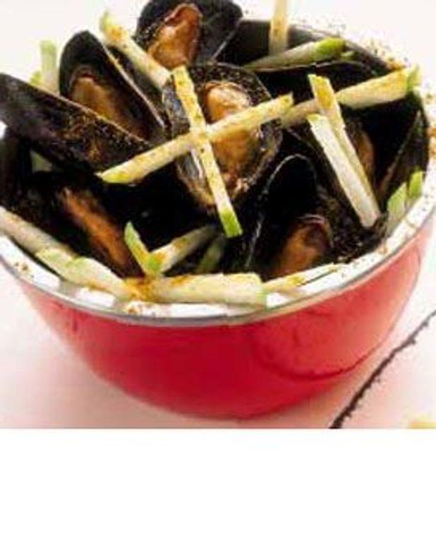 Salade de moules curry