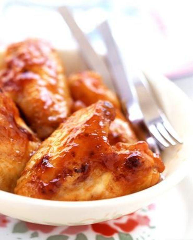 Ailerons de poulet sauce barbecue