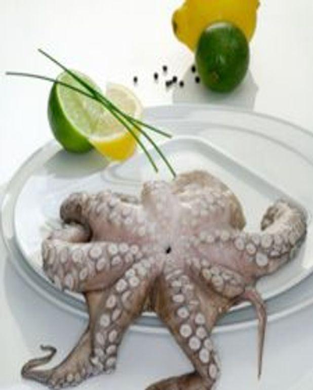 Calamars marinées au citron BBQ