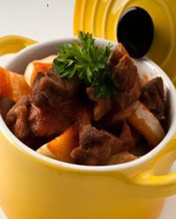 Cocotte de bœuf et fenouil