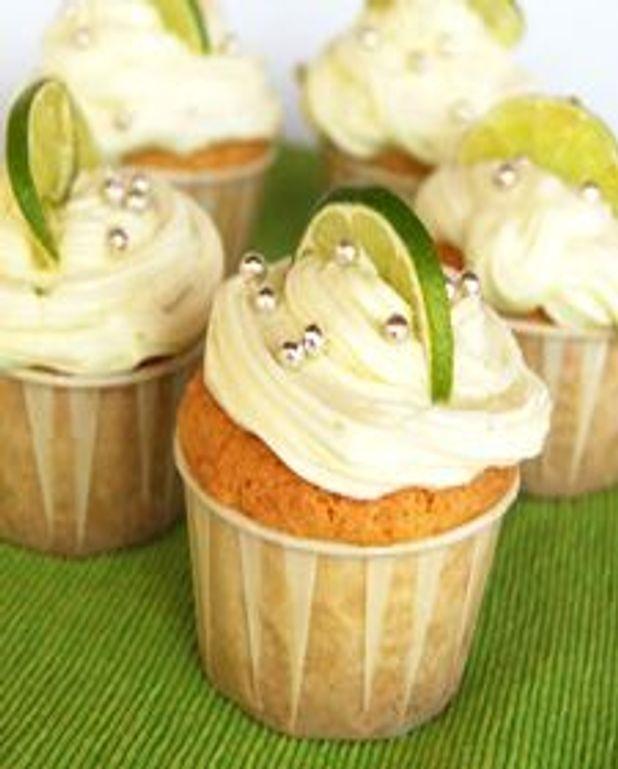 Cupcakes à la noix de coco, glaçage fromage à la crème à la lime