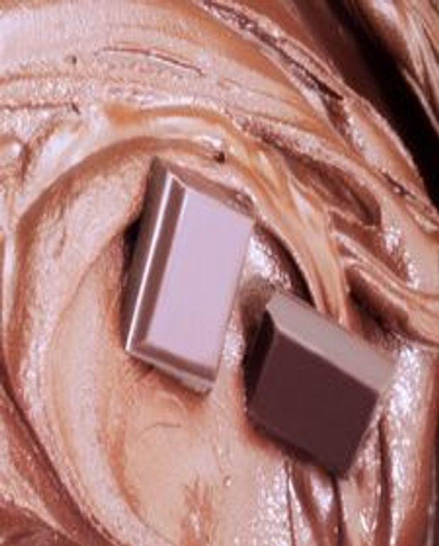Duo mousse chocolat et crème pistache
