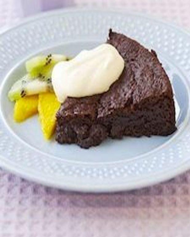 Gâteau au chocolat brownie