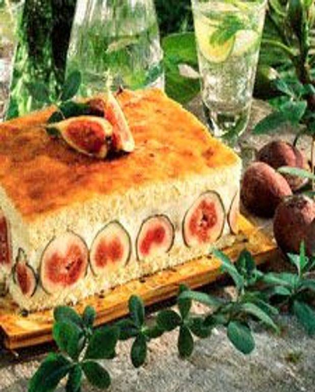 Gâteau aux figues et aux bananes