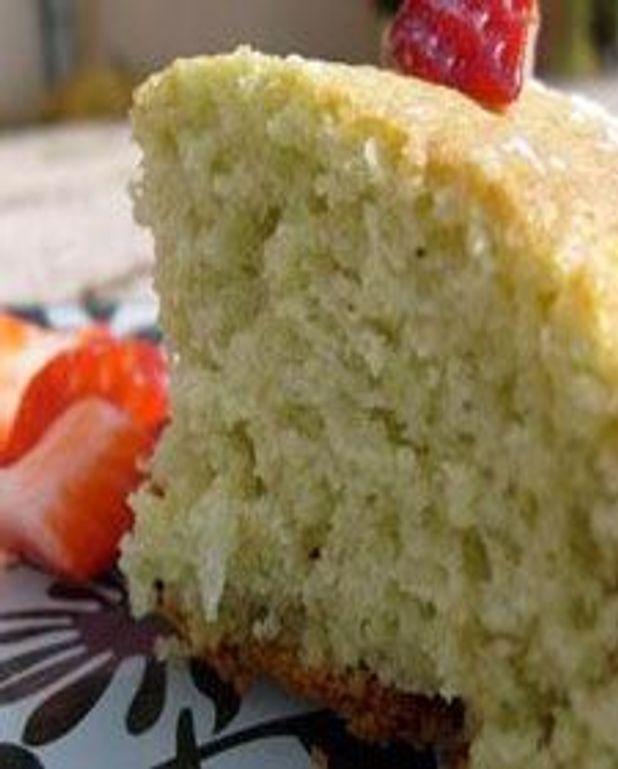 Gâteau aux pistaches réinventé