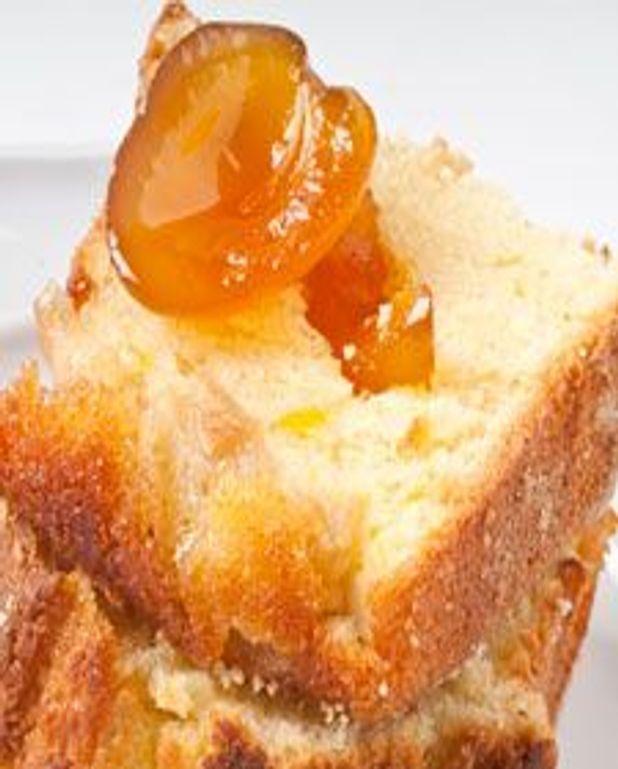 Gâteau aux poires et aux abricots